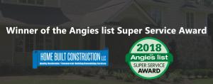 Angie's List 2018 Super Service Award Winner