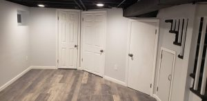 doors in a basement